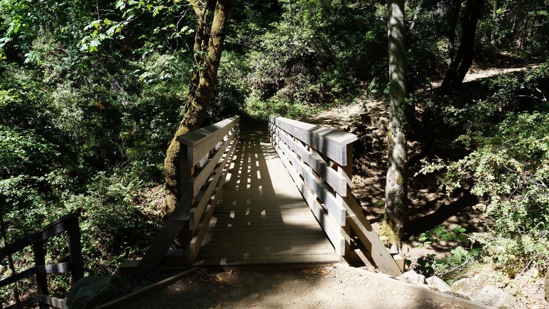 Bridge that Passes Over Granuja Falls