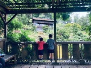 Hakone Gardens Wisteria Pavilion