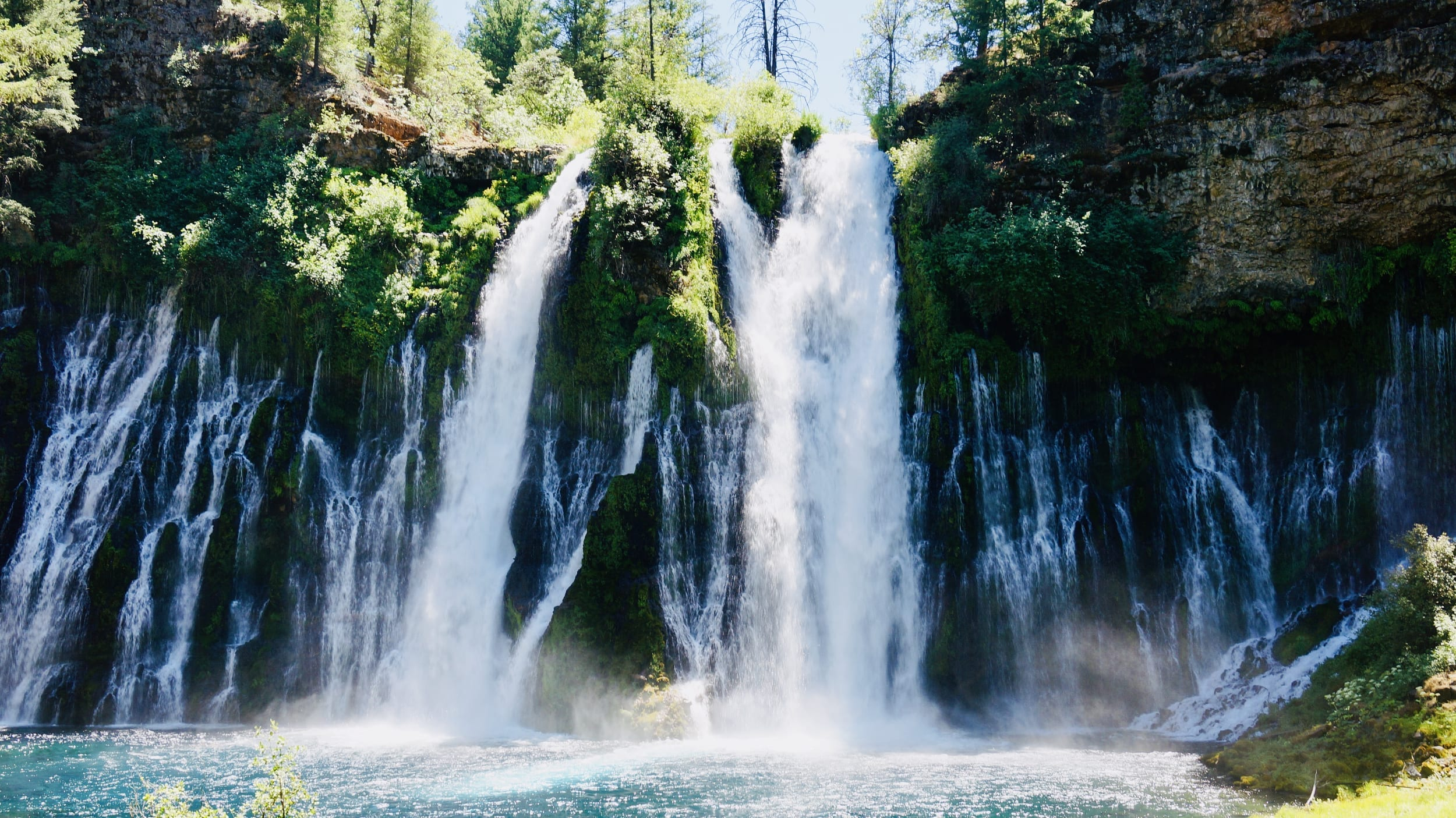 Burney Falls and Camping with Kids at Lassen Volcanic National Park (Day 1 of 3)