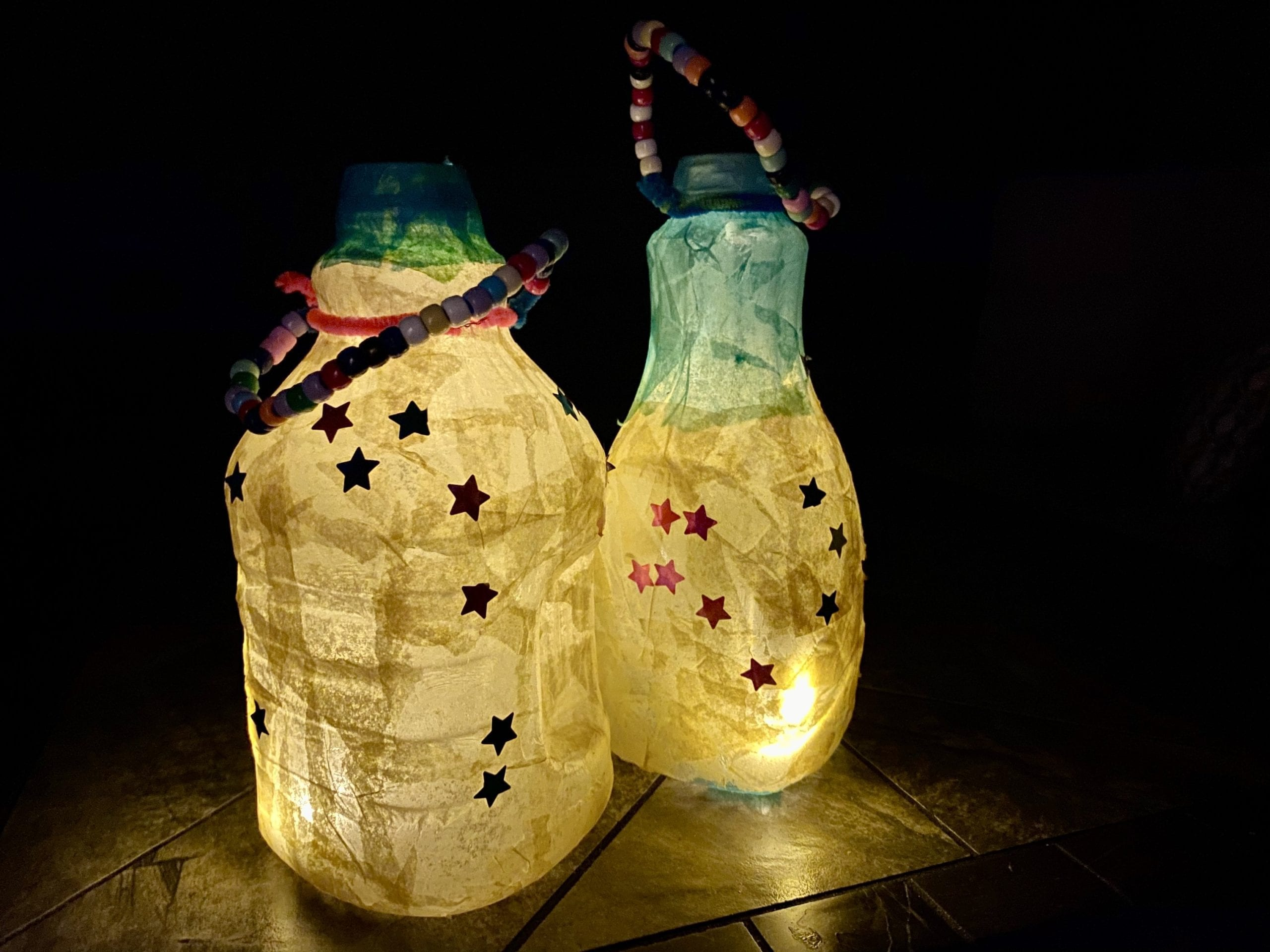 Camping Crafts for Kids: DIY Lanterns (aka Night Lights!)