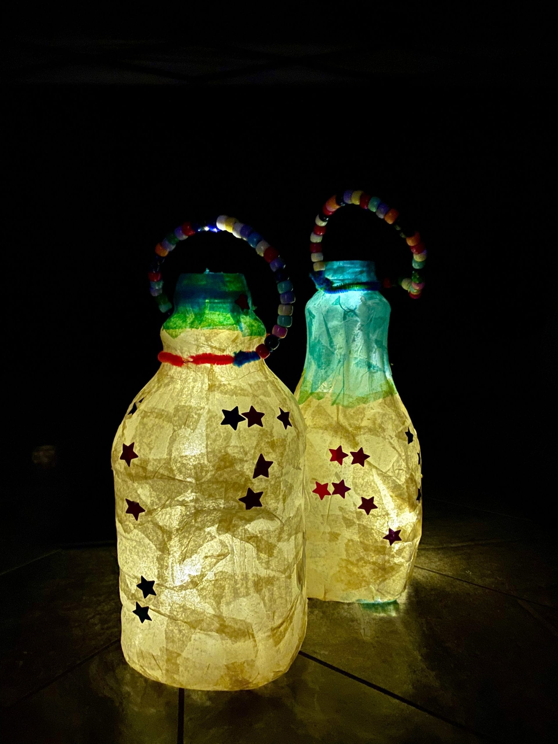 Completed Lanterns