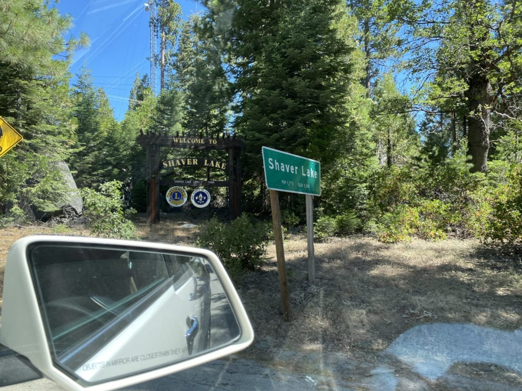 Welcome to Shaver Lake signs