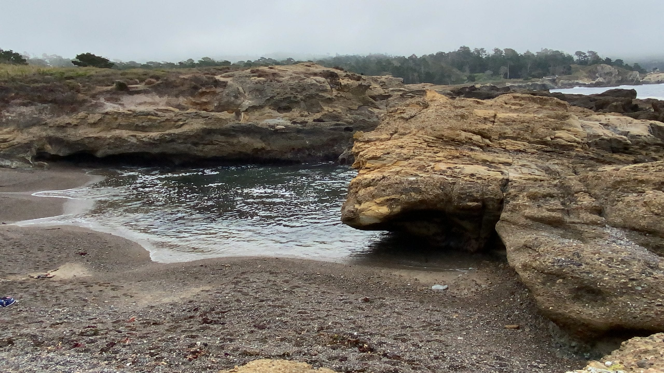 Hidden Beach, South Shore Trail, Point Lobos Hikes
