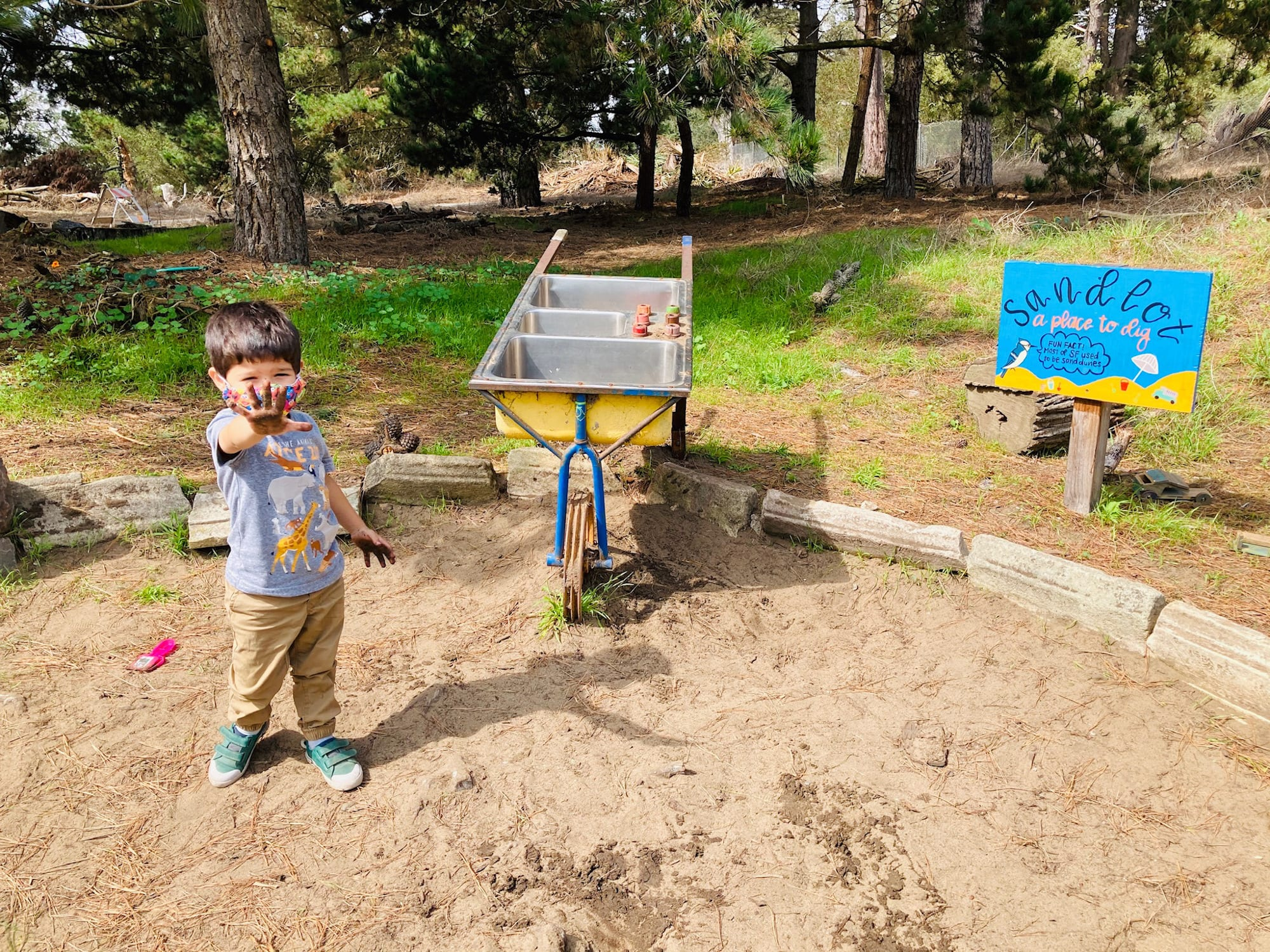 San Francisco Botanical Garden with Kids, the Children's Garden Orchard