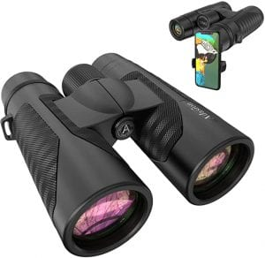 Binoculars with Smart Phone Adapter - Packing List