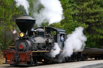 Sugar Pine Mountain Railroad Train