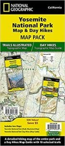 Nat Geo Yosemite Map Bundle