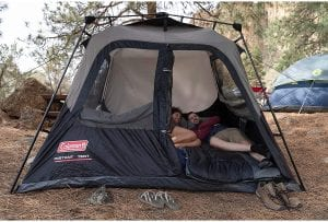 Best Family Tent for Easy Set Up - Coleman Instant Cabin