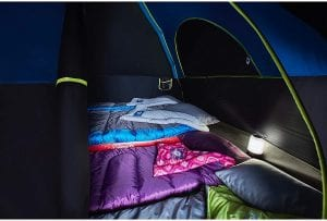 Best Family Tent: Coleman Carlsbad Interior