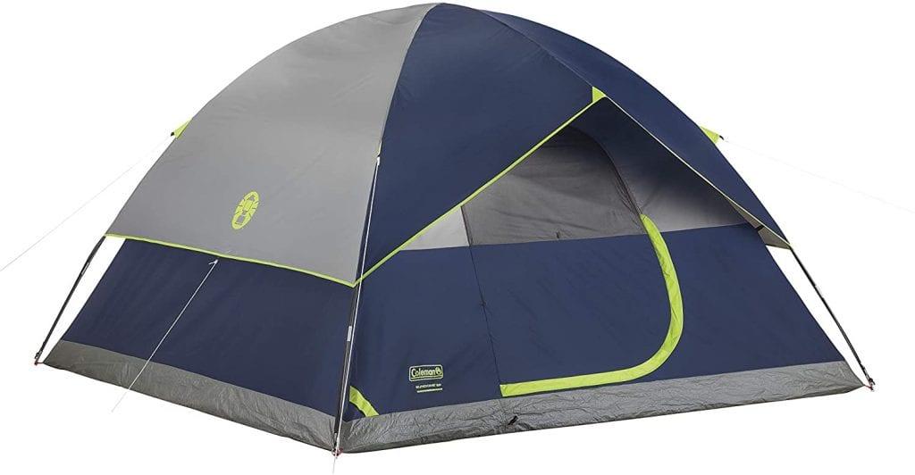 Best Budget-Friendly Tent: Coleman Sundome