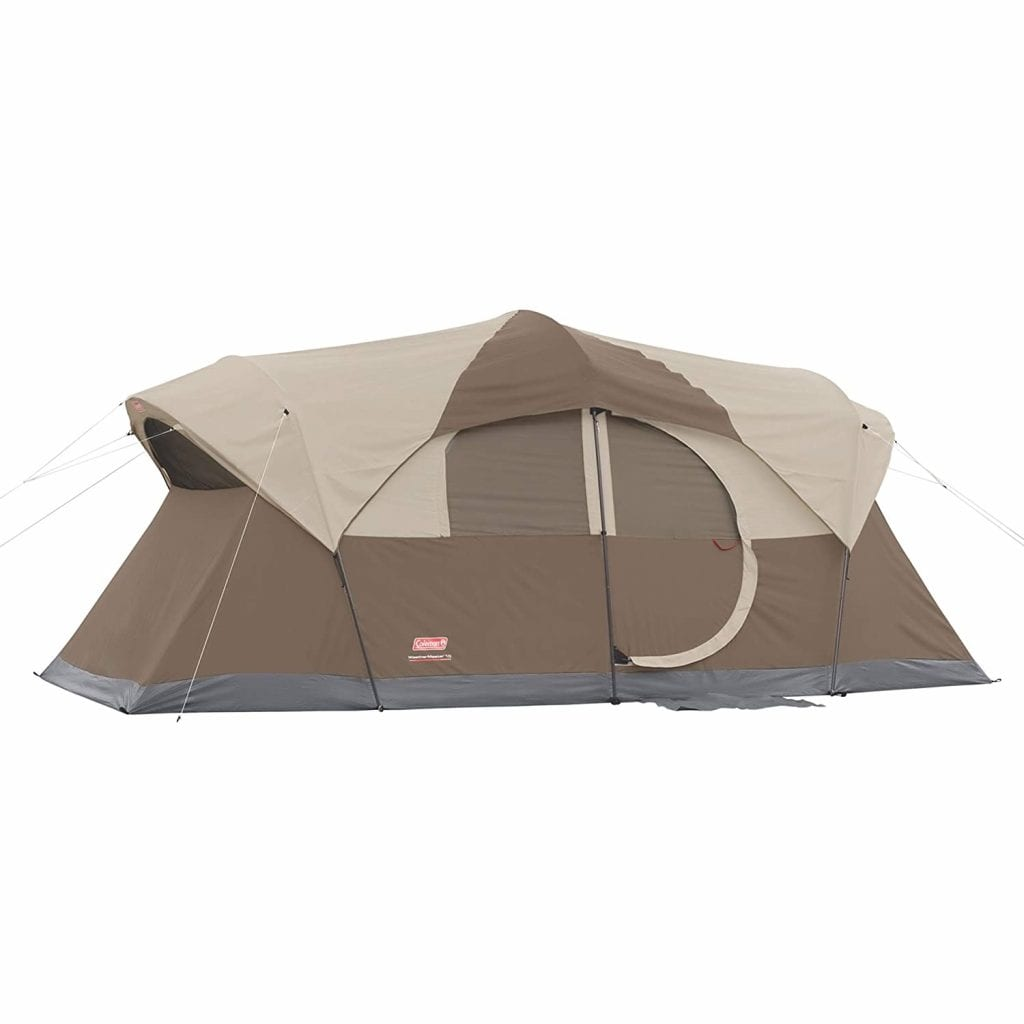 Best Extra Large Family Tent: Coleman Weathermaster 10