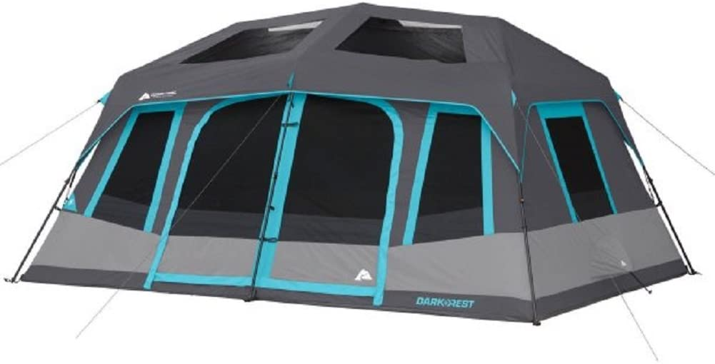 Best Extra Large Family Tent: Ozark Trail 10P Dark Instant Cabin