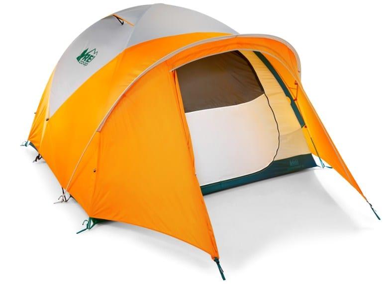 Weatherproof Family Tent Option: REI Basecamp 6