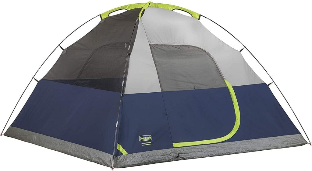 Coleman Sundome without Rain Fly - Best Budget-Friendly Tent