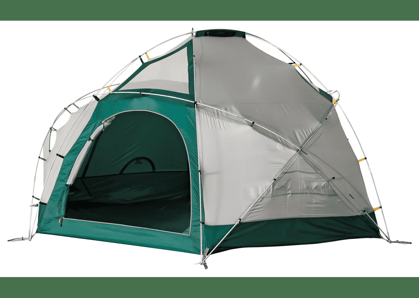 Best Family Waterproof Tent: Alaskan Guide Geodesic 6 Awning