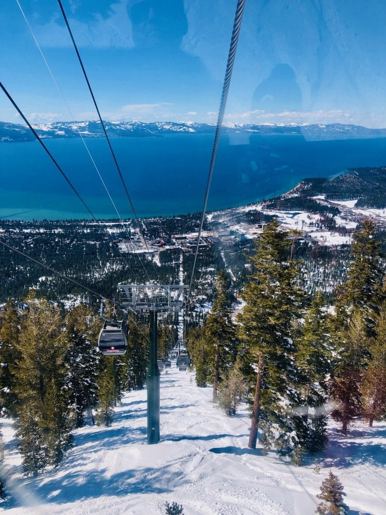 View from Heavenly Gondola