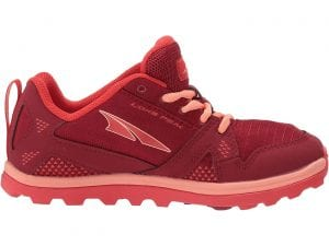 Best Kids Hiking Shoes: Comfortable Trail Runners for Growing Feet. Image of Altra Lone Peak Trail Runners for Kids