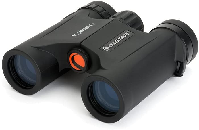 Celestron Outland X Binoculars are not much bigger than the average smartphone