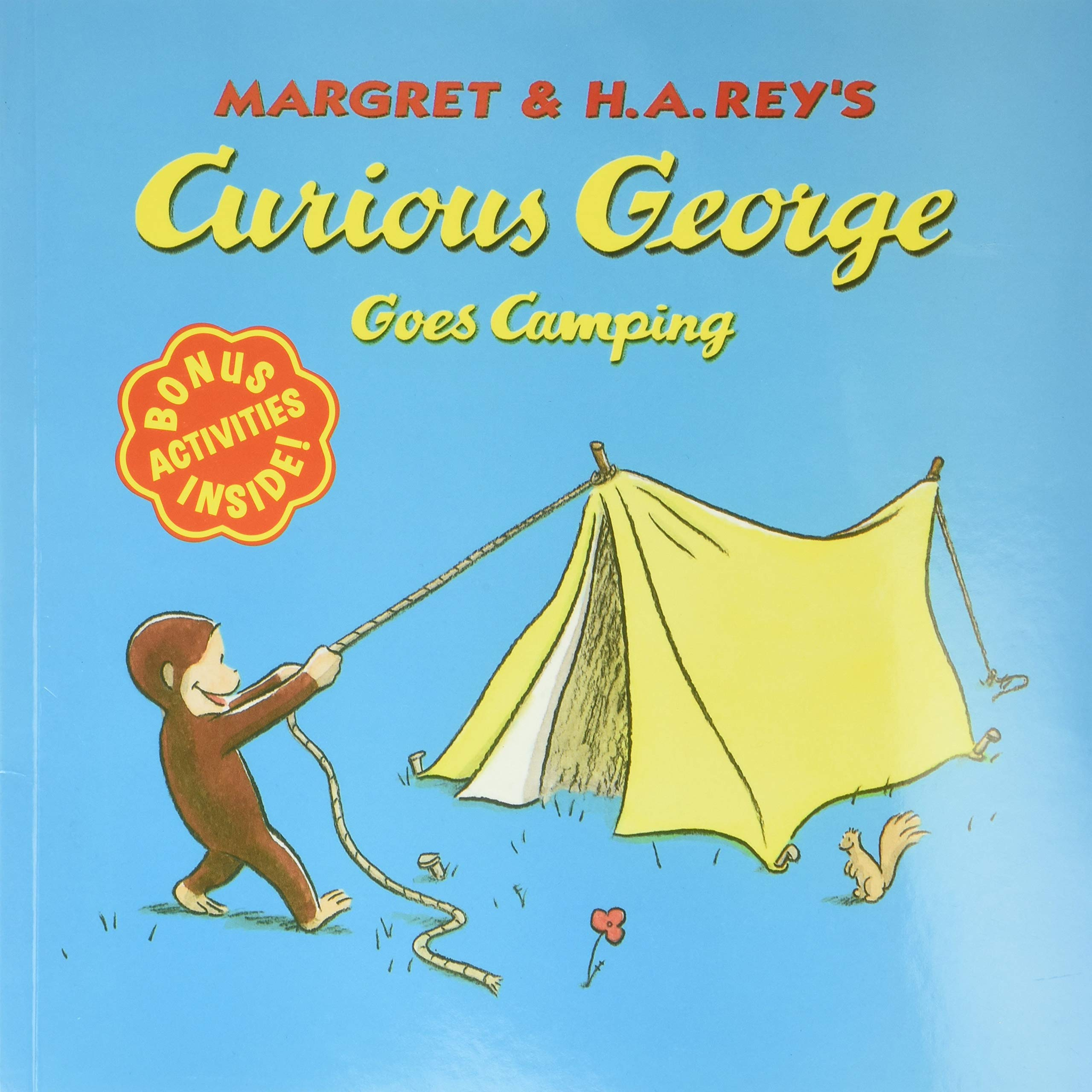 Book Cover: Curious George Goes Camping