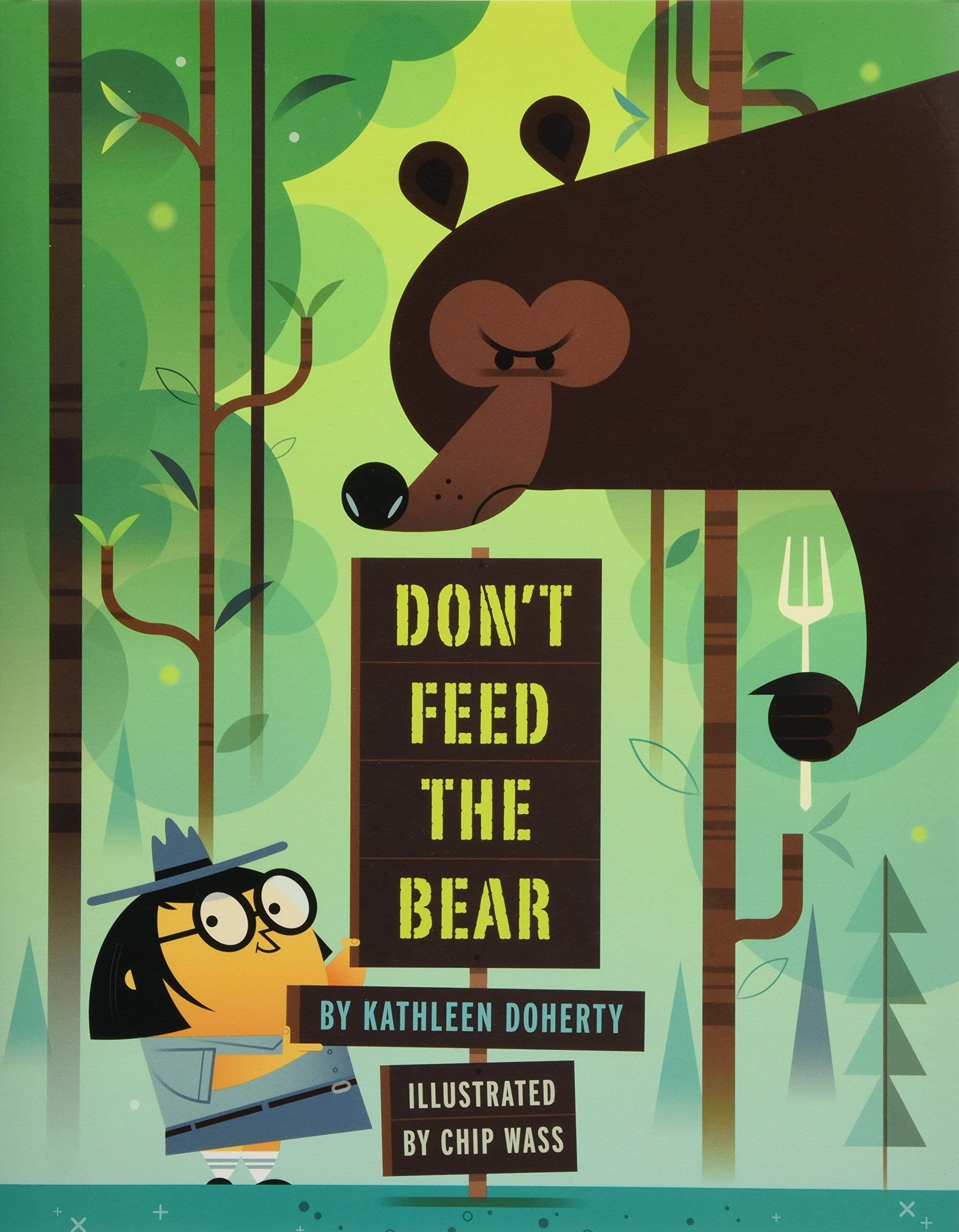 """Book Cover: """"Don't Feed the Bear"""""""