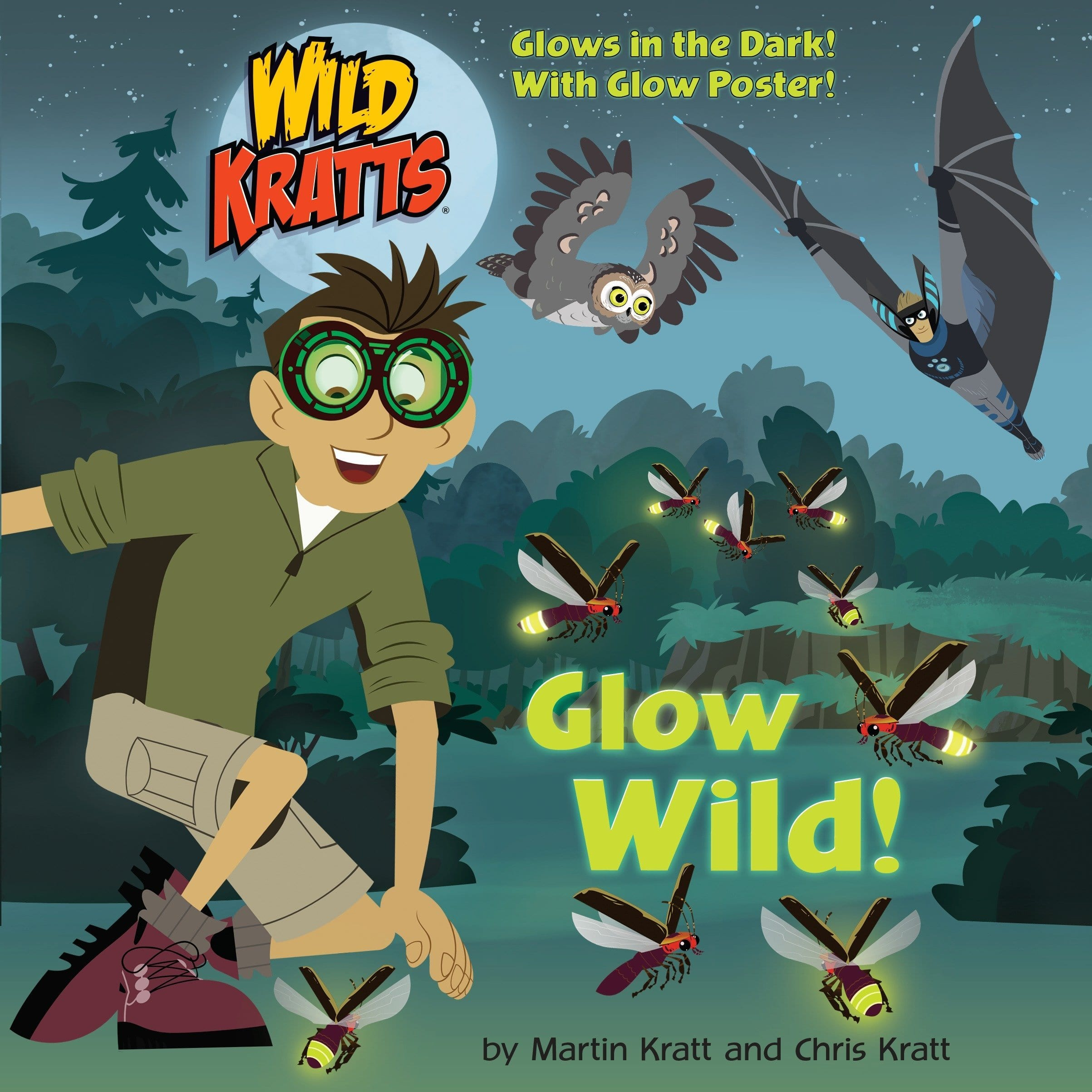Book Cover: Glow Wild