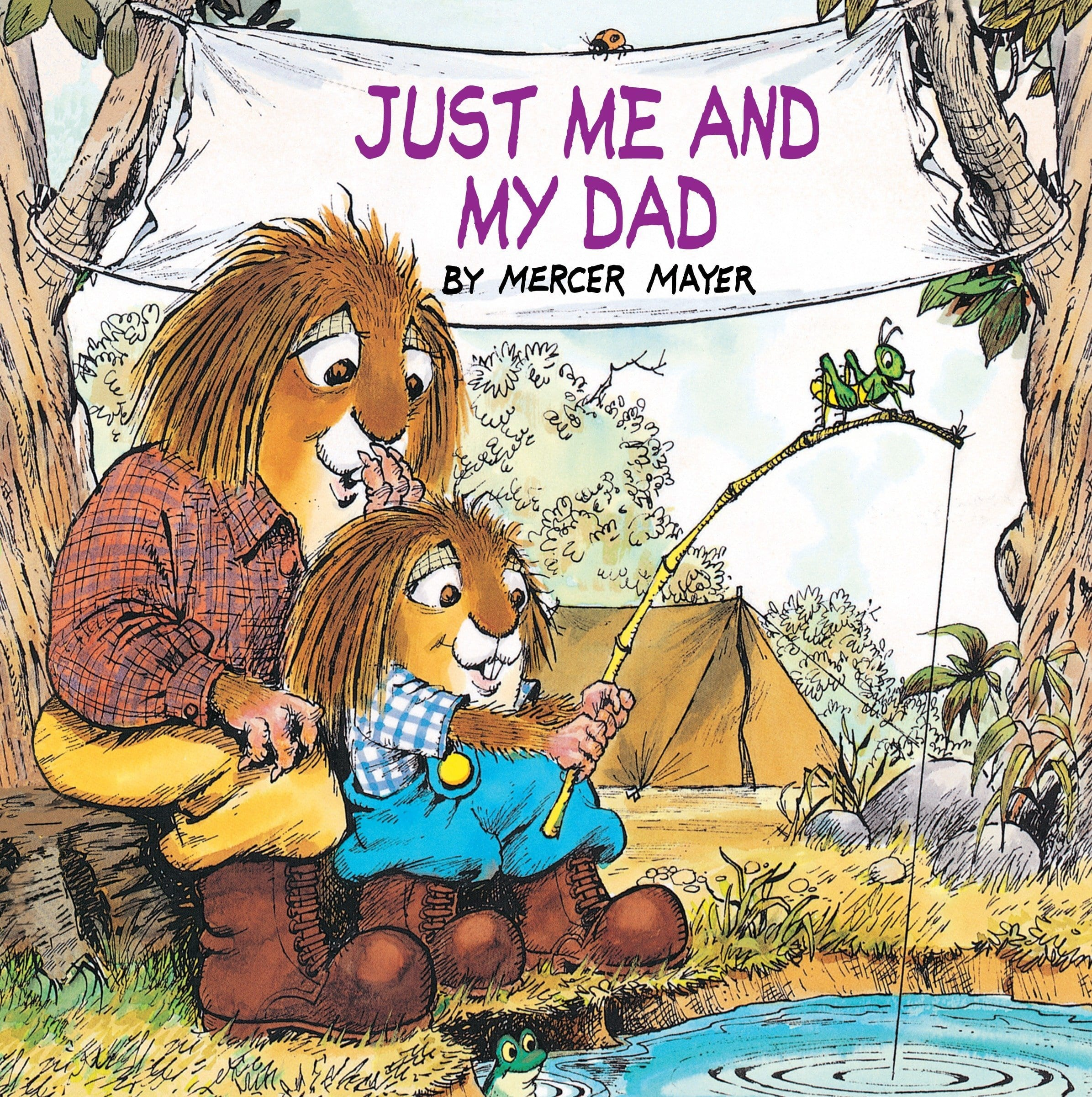 Book Cover: Just Me and My Dad