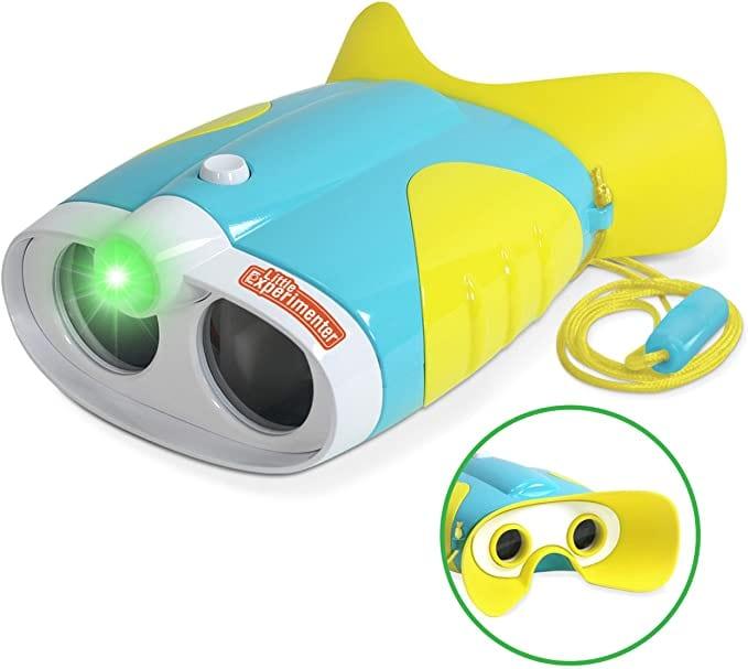 Little Experimenter Night Vision Binoculars with Flashlight