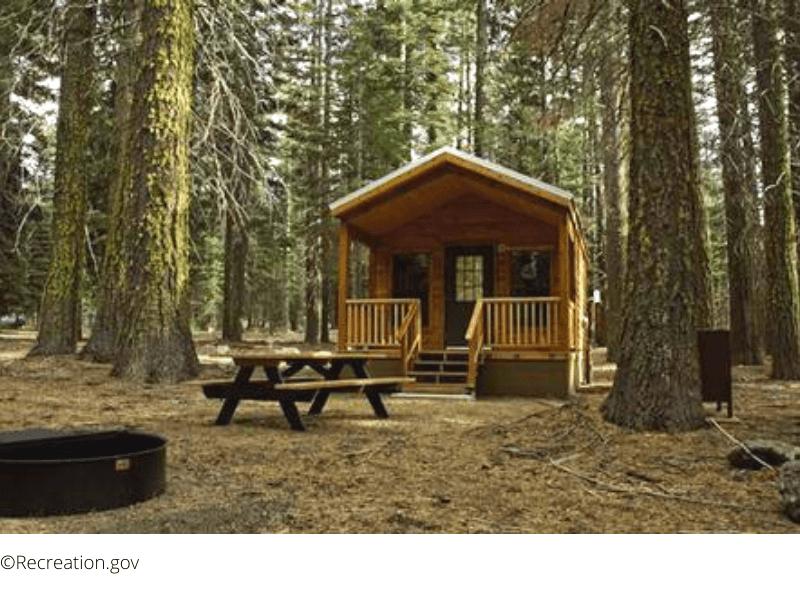 Places to Stay in Lassen - Manzanita Lake Camping Cabins