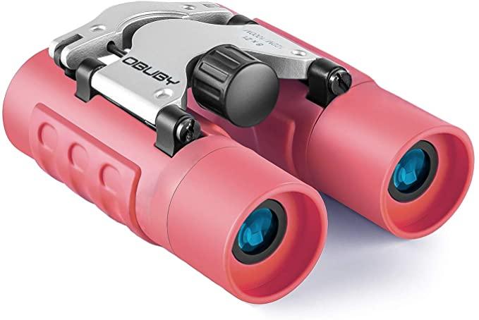 Obuby Binoculars for Kids in Red