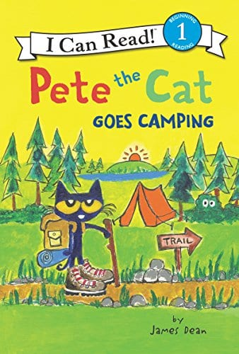Book Covers: Pete the Cat Goes Camping