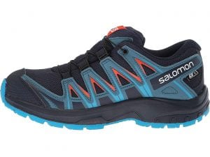 Best Kids Hiking Shoe for Aggressive Grip - Salomon XA Pro 3D for Little and Big Kids