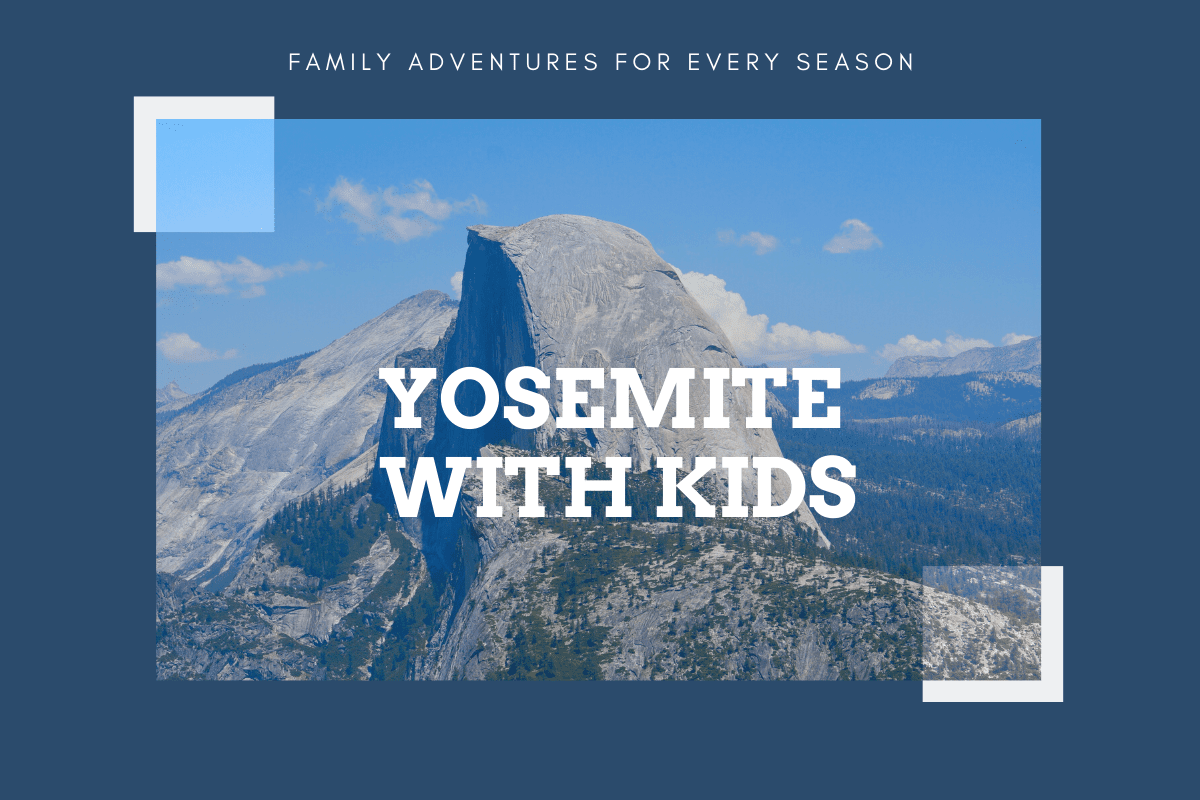 Yosemite post header - article title over an image of Half Dome
