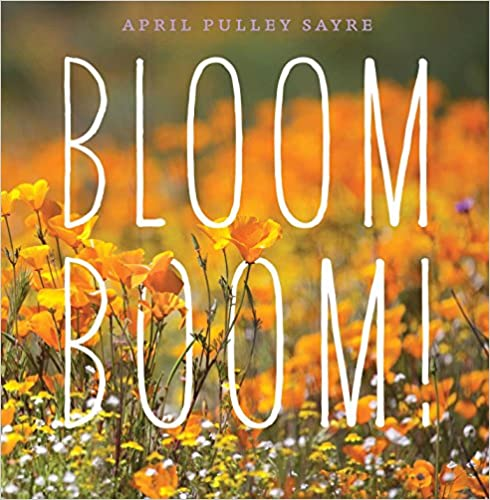 Bloom Boom! Book Cover - photo of poppies