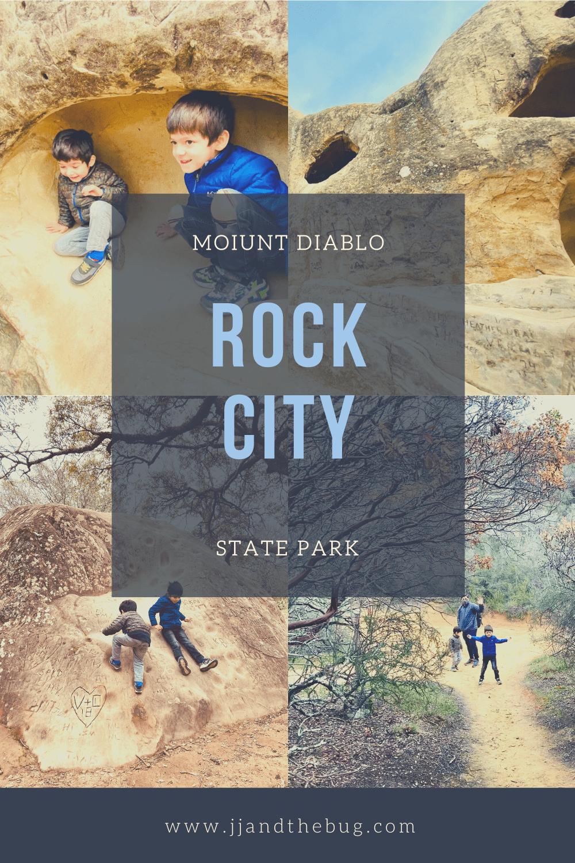 Pinterest Pin, Rock City, Mount Diablo
