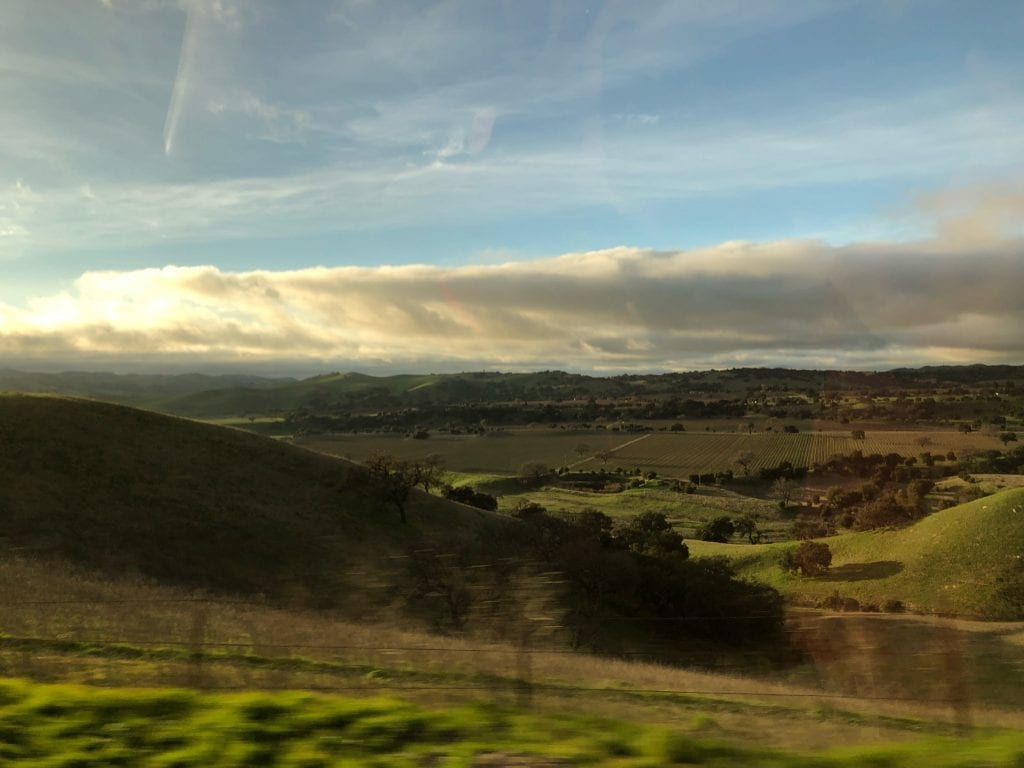 Santa Ynez Valley from the Car