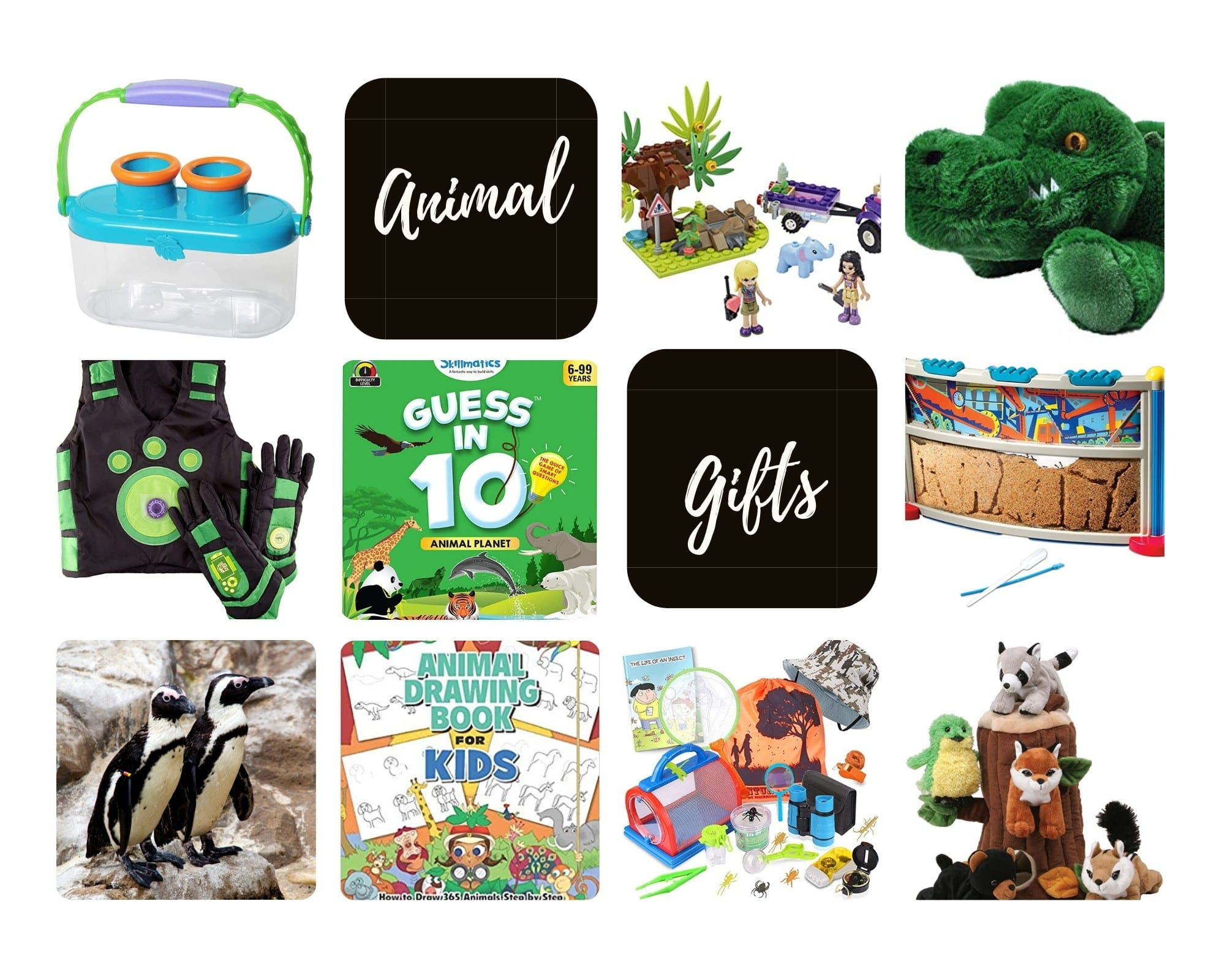 Product Images of all 10 Animal Gift Ideas