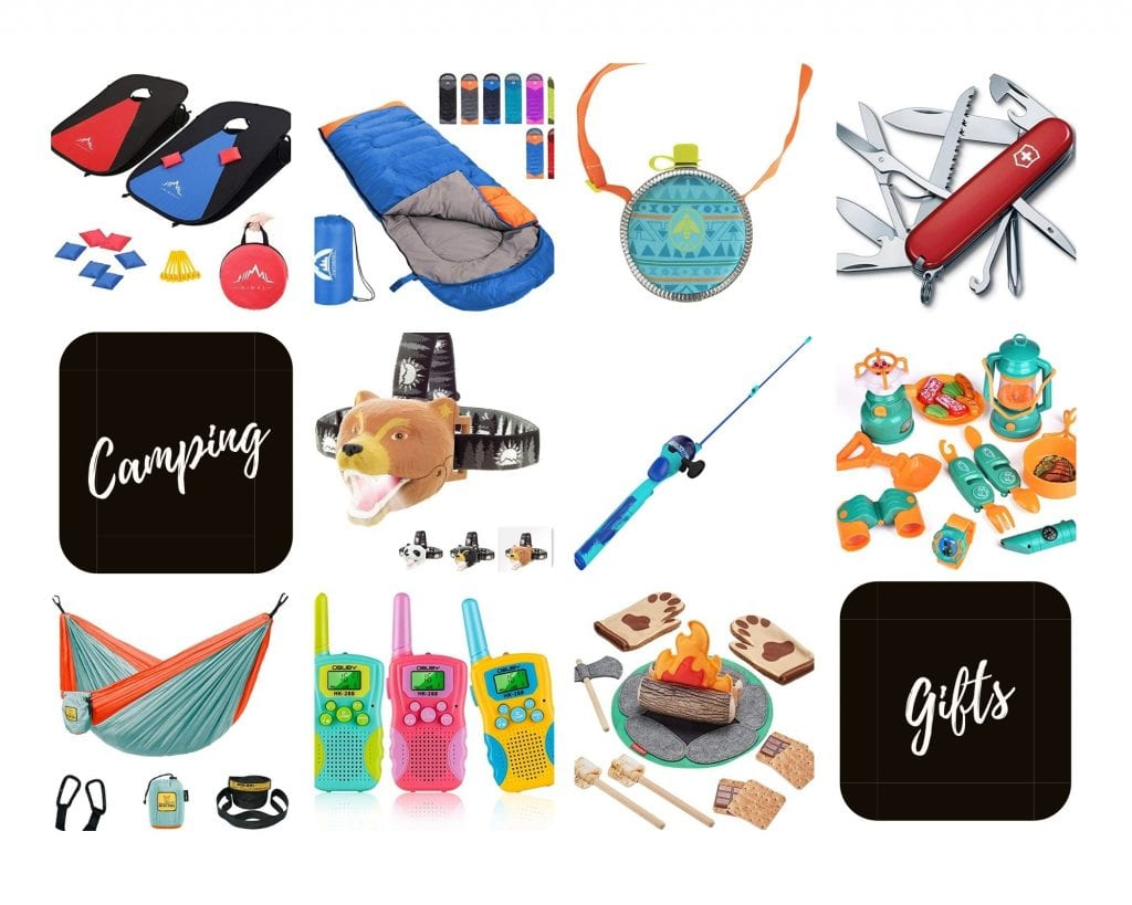 Product Images of the Top 10 Camping Gifts for Outdoorsy Kids to Follow