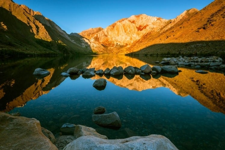 Convict Lake at Golden Hour