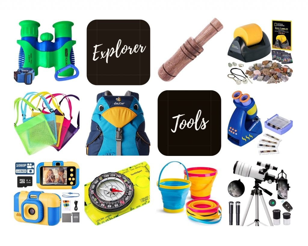 Images of the Top 10 Explorer Tool Gifts for Outdoorsy Kids to Follow