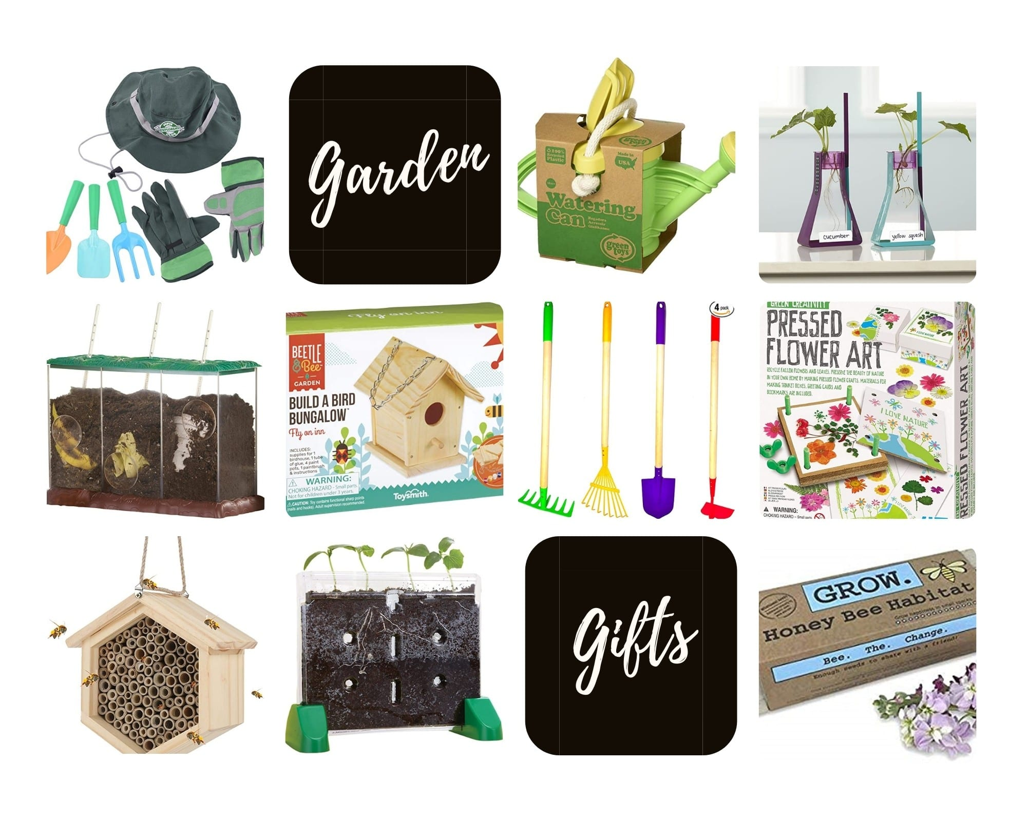 Product Images of all 10 Garden Gift Ideas