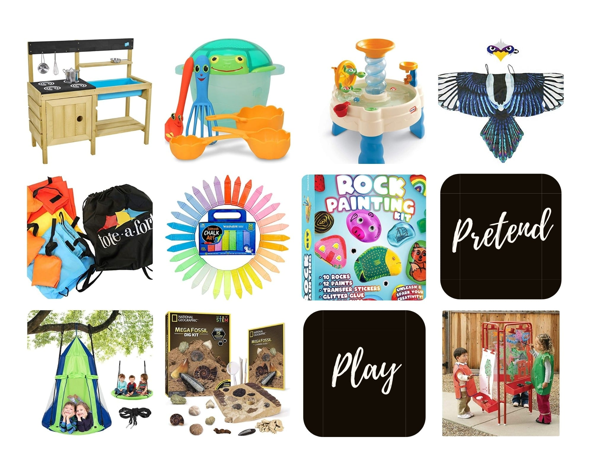 Product Images of the Top 10 Imaginative Play Gifts for Outdoorsy Kids to Follow