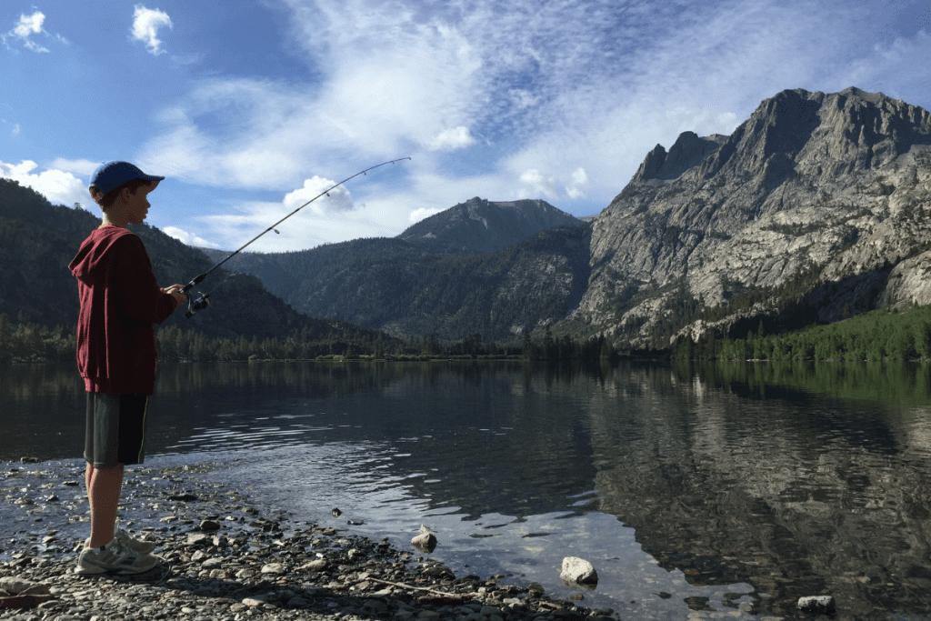 Fishing in June Lake