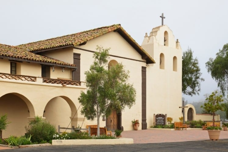 Mission Santa Ines Exterior