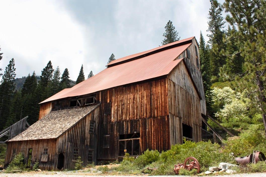 Historic Mill at Plumas-Eureka State Park