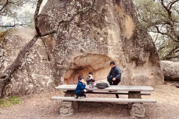 Family Road Trip Essentials: BYO Meals and Snacks. California State Parks have some amazing picnic sites, like this one in Mount Diablo State Park's Rock City