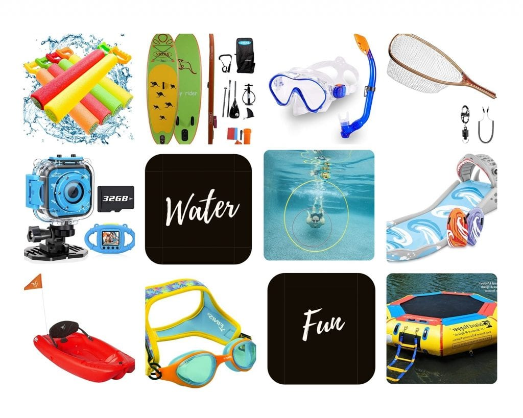 Product Images of all 10 Water Toy Gift Ideas