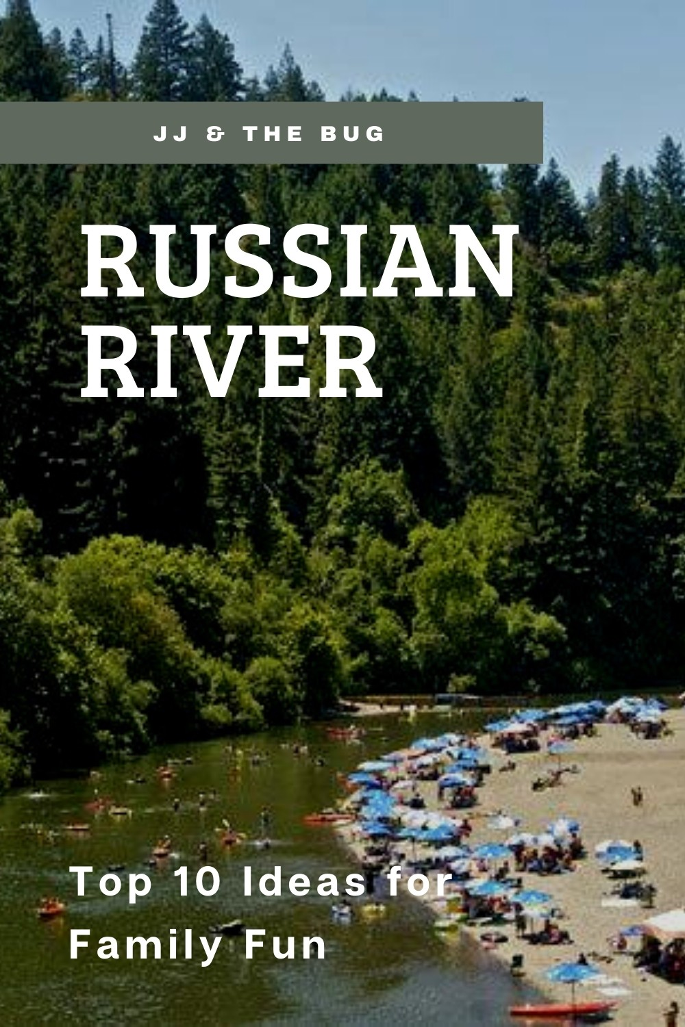 Russian River Family Activities Post Pin