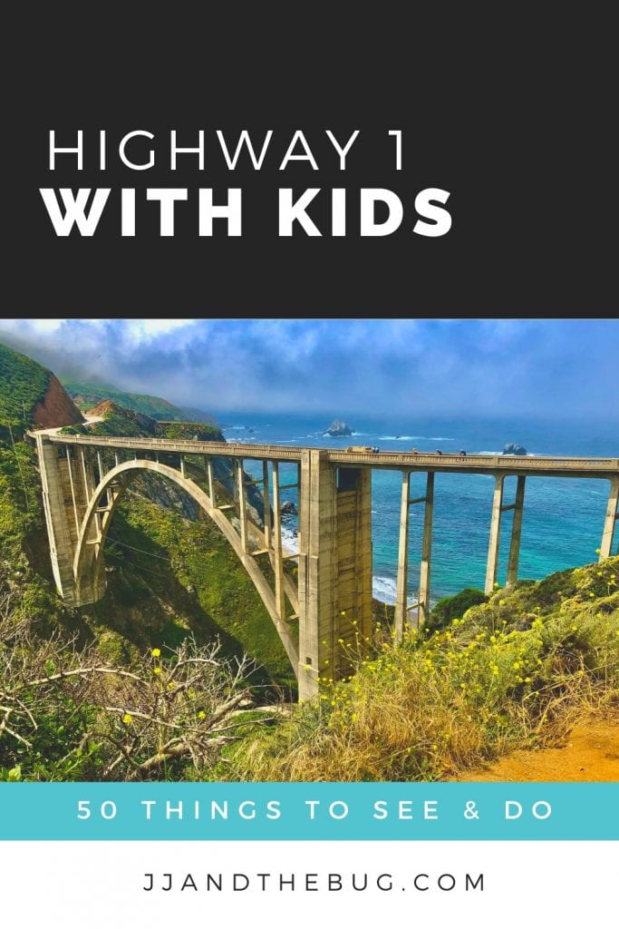 Image of the Bixby Bridge on a pin to save this post.