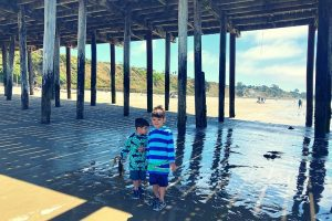 Under the Pier at Seacliff State Beach