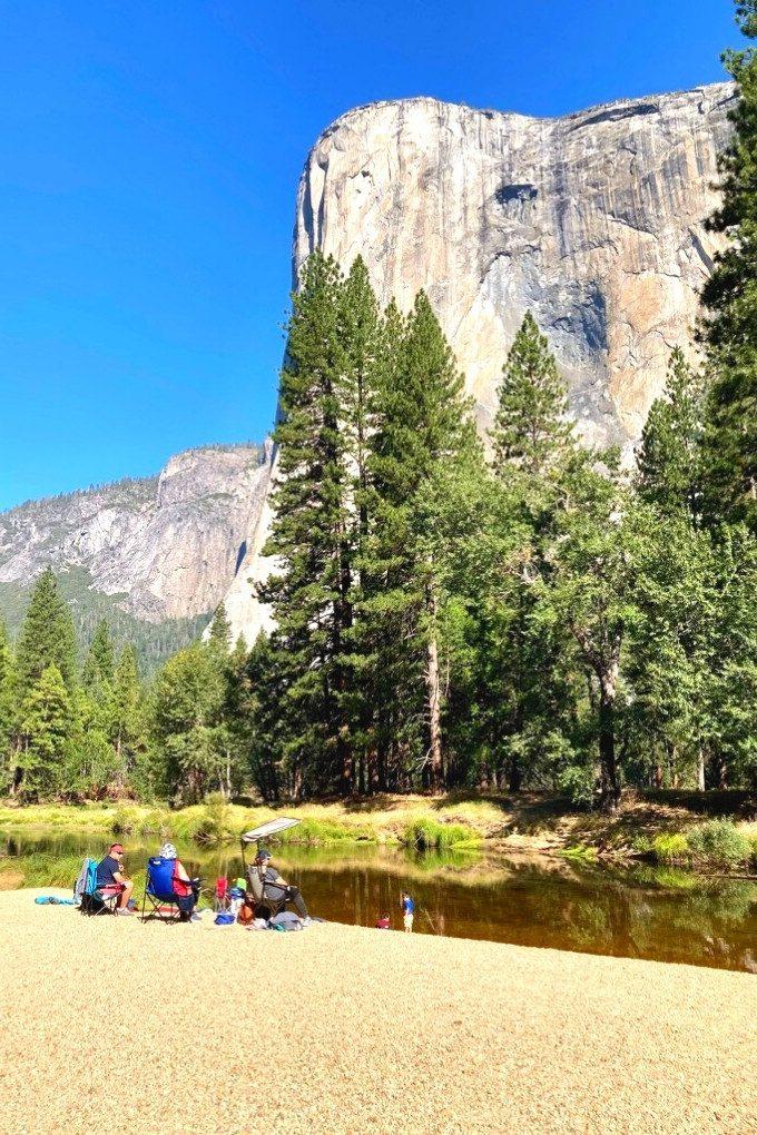 Yosemite Cathedral Beach